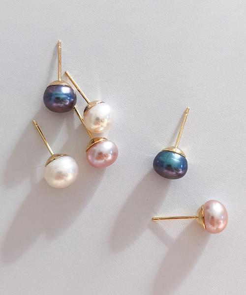 sugar pearl earring