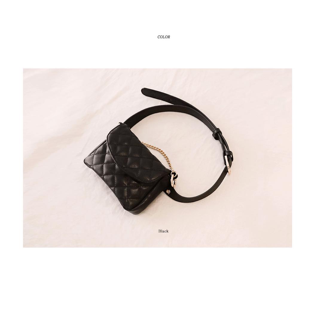 [BAG] SENSUAL LEATHER WAIST BAG