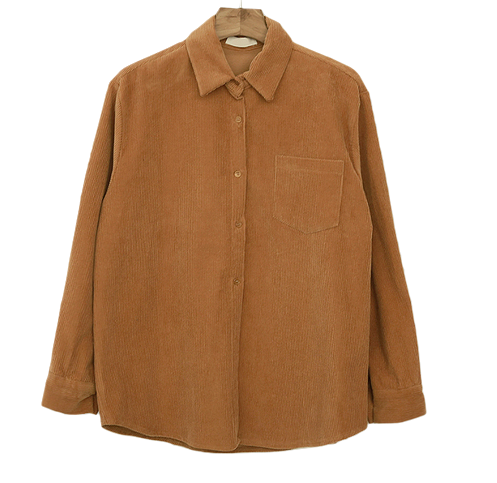 Blessing-corduroy shirt