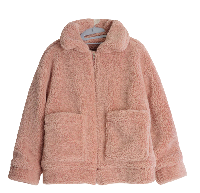 Huggy Fleece Collar Jumper