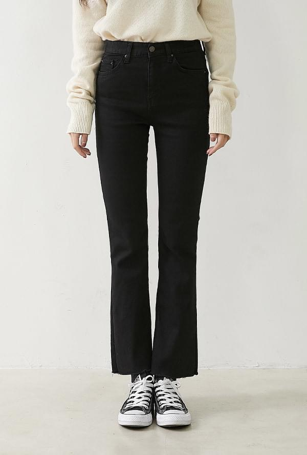 Diane brushed black pants