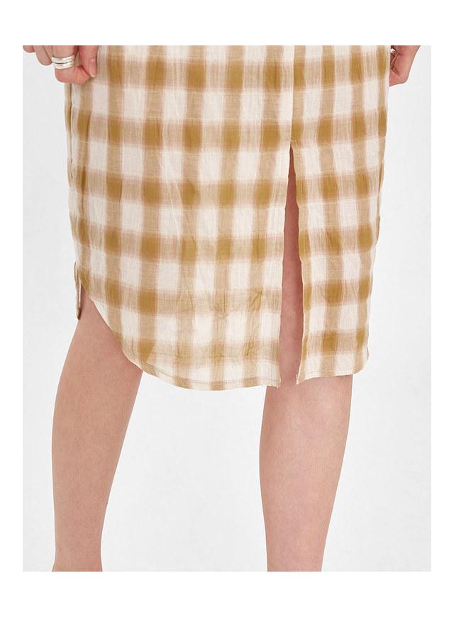 choice check skirt