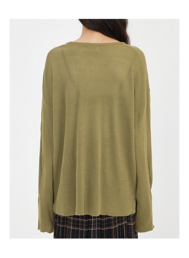 vero loose fit v-neck knit