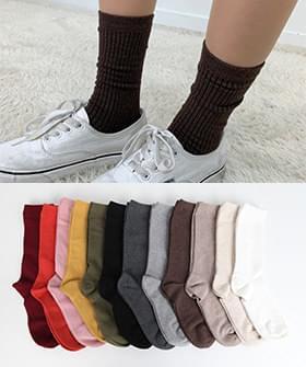 Daily plain socks