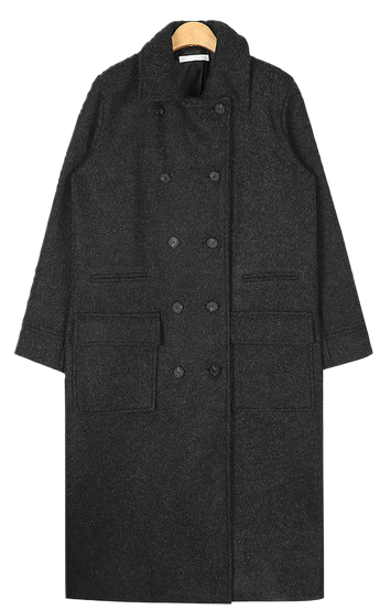 bokashi long double coat