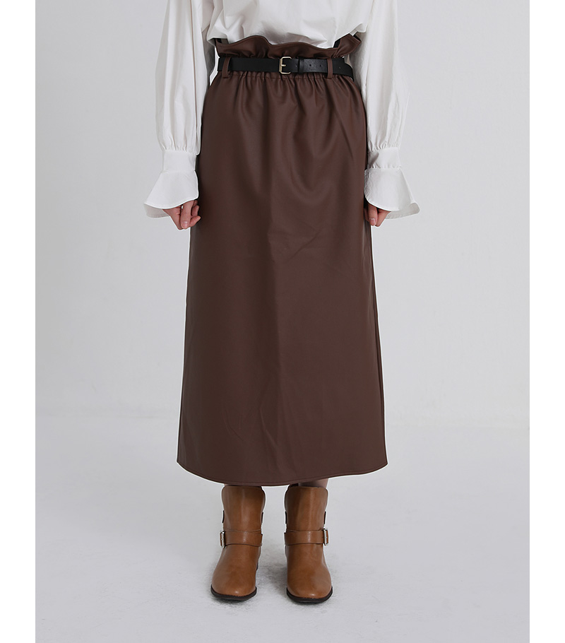 belt set leather banding skirt