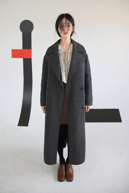 button strap handmade coat (2colors)