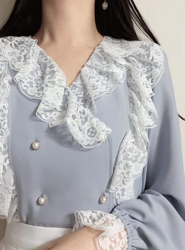 Miko Lace blouse