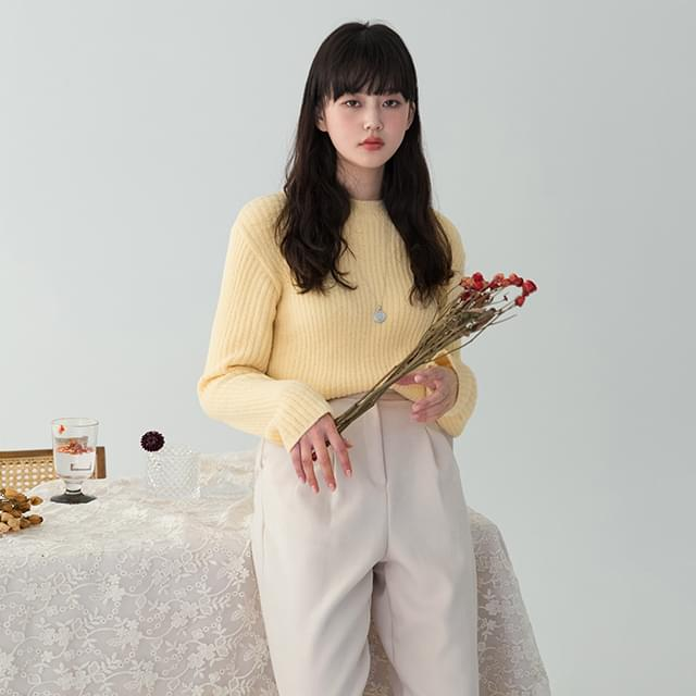 pastel golgi knit