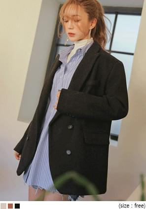 JUST WOOL 40% DOUBLE JACKET