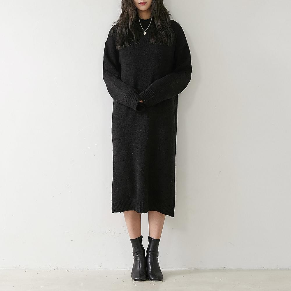 Sienna knit long dress