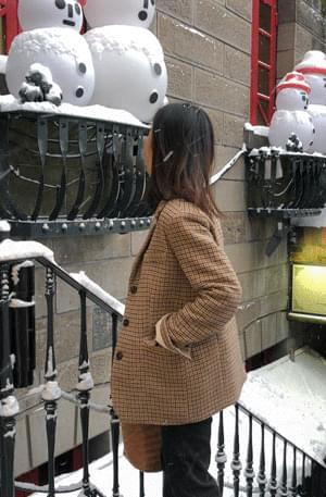 MMMM / vintage wool check jacket