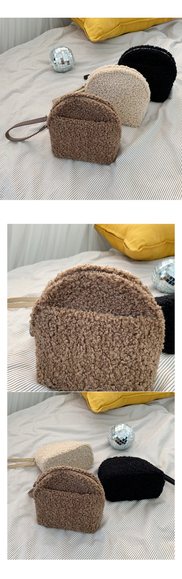 Mongle clutch bag