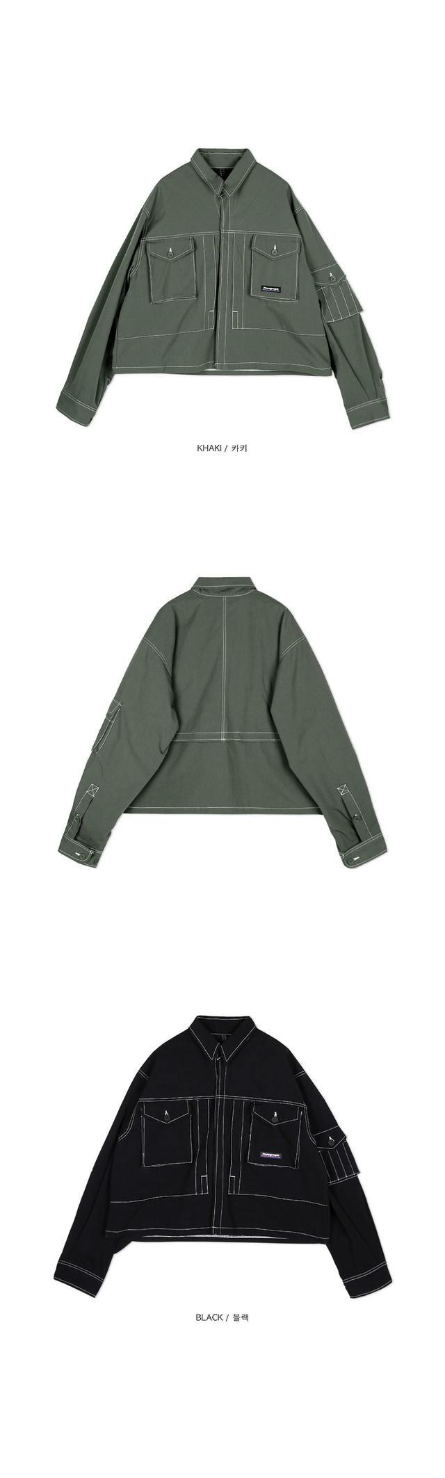 SALE stitches field jacket - UNISEX
