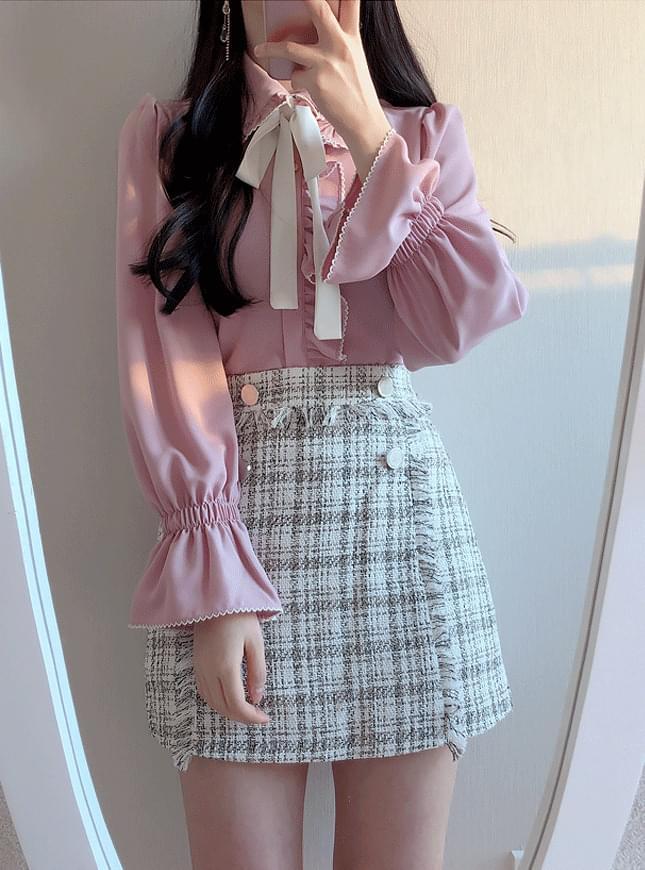 Sweetie ribbon blouse