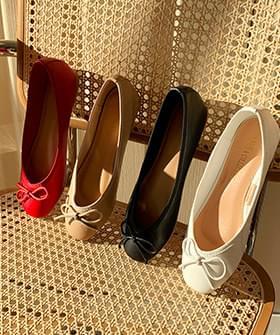 Rubbing Glass Flat Flat Shoes