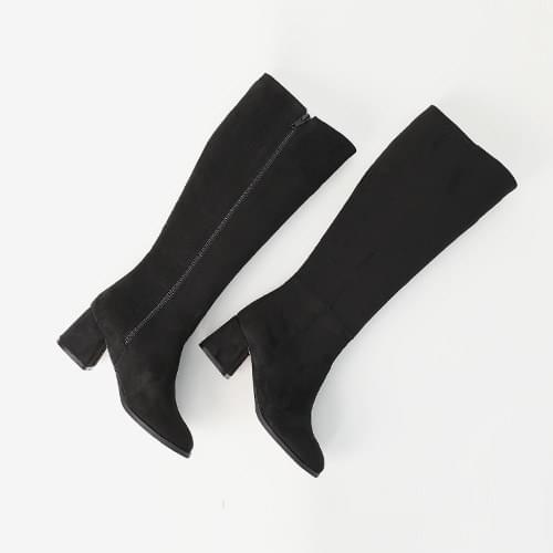 Cal Suede Long Boots