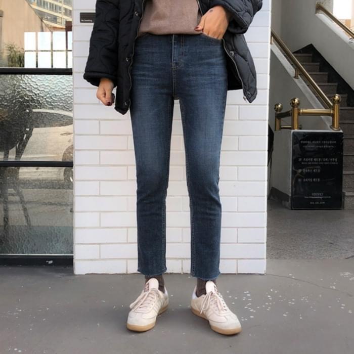 Dark Jinjung Date Skinny Pants