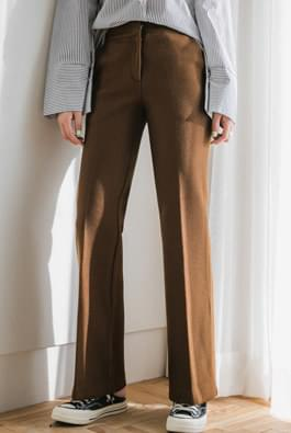Winter Wide Wool Slacks