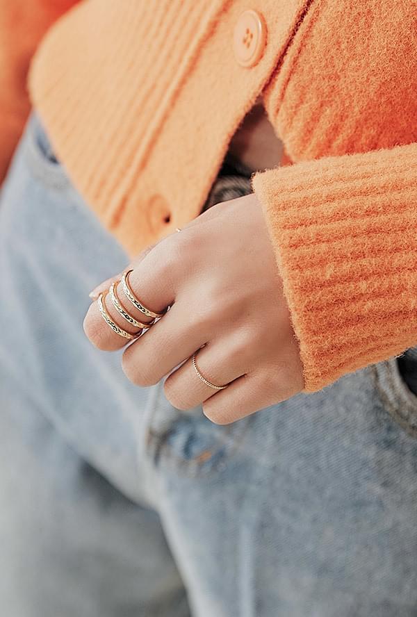 Shirred Ring