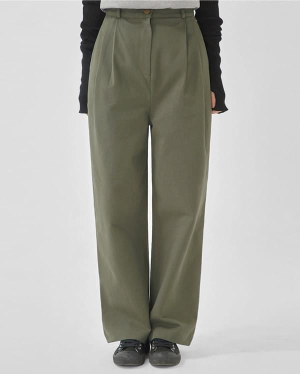 margaret pintuck wide cotton pants