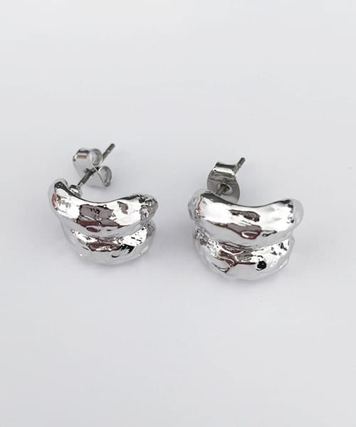 walnut earring