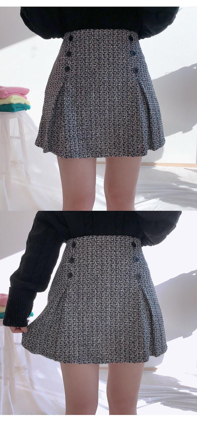 Barry Tweed skirt pants