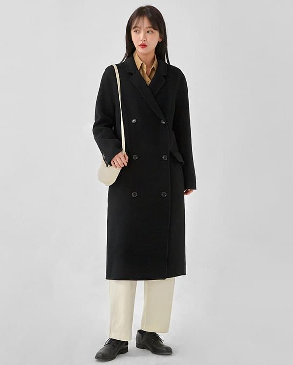 day double handmade coat (wool90%)