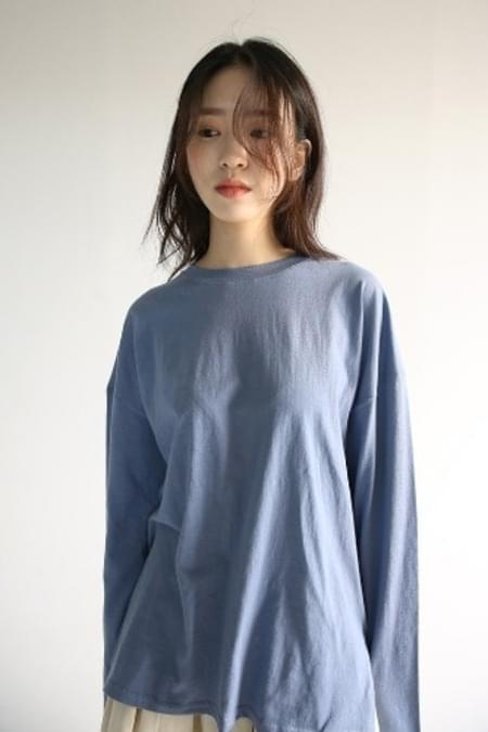 colorful basic boxy T-shirt