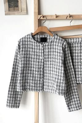 Shine Tweed Jacket