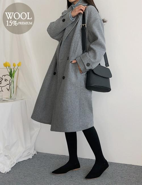 Neuro Basic Wool Coat