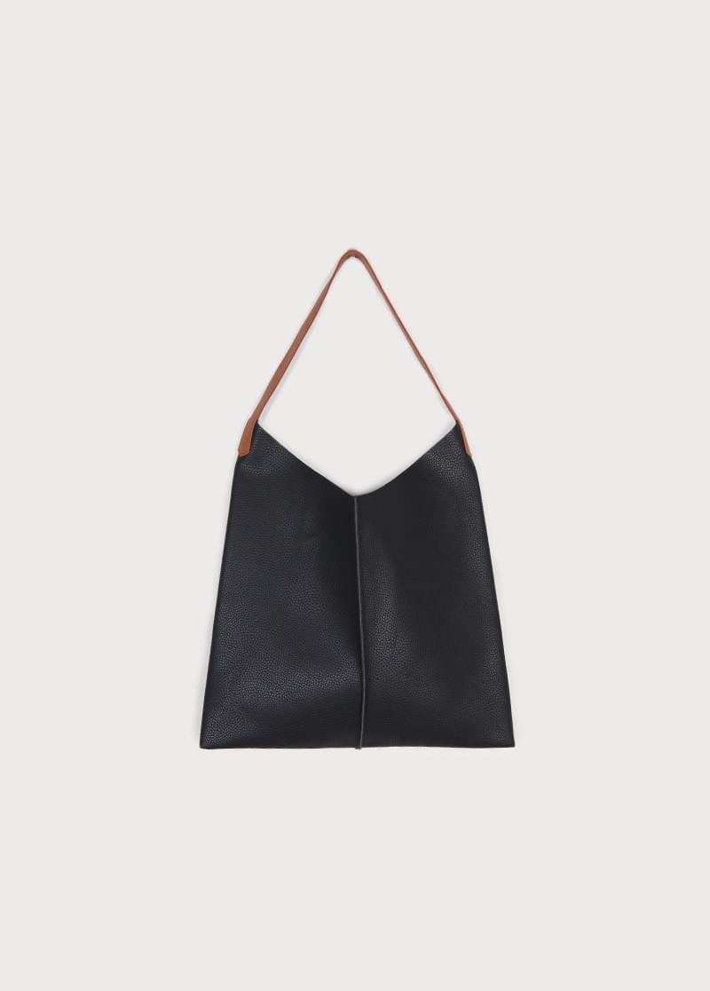 Brown strap bag