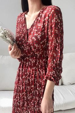 Wrinkle twig dress