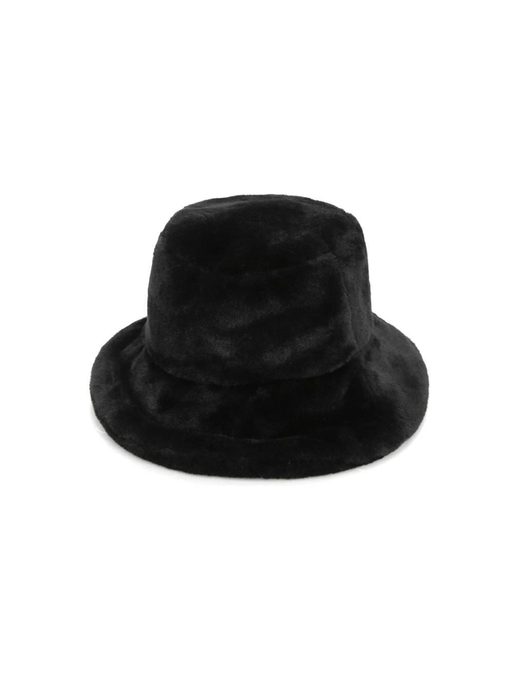 soft fur bucket hat