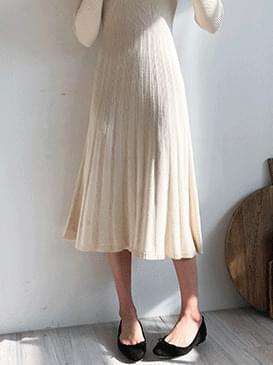 Reina Knit Long Dress