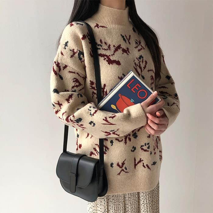 Unique Pattern Basic Knit