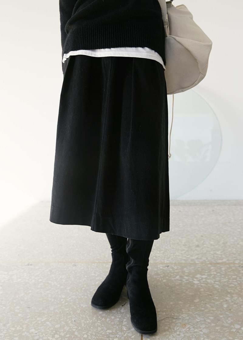 Roe flare skirt