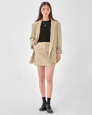 shoulder three botton jaket
