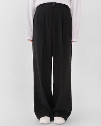 pin basic wide slacks