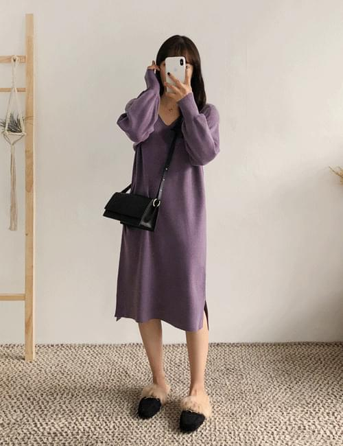 Mare V-Long Knit Dress