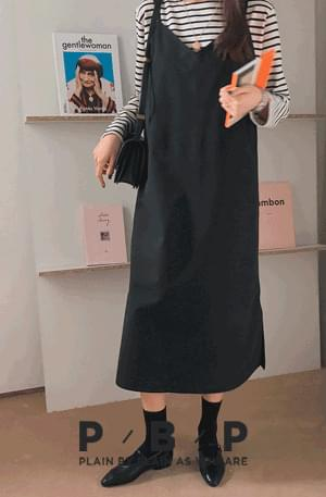 Self-produced / PBP. Square boxed long dress