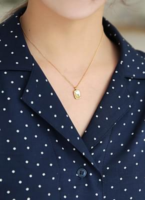 92.5 Square necklace