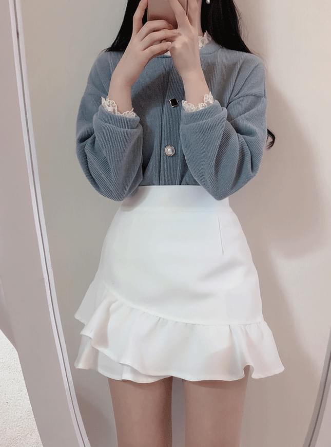 ♥ Claire Shirring Mini Sk