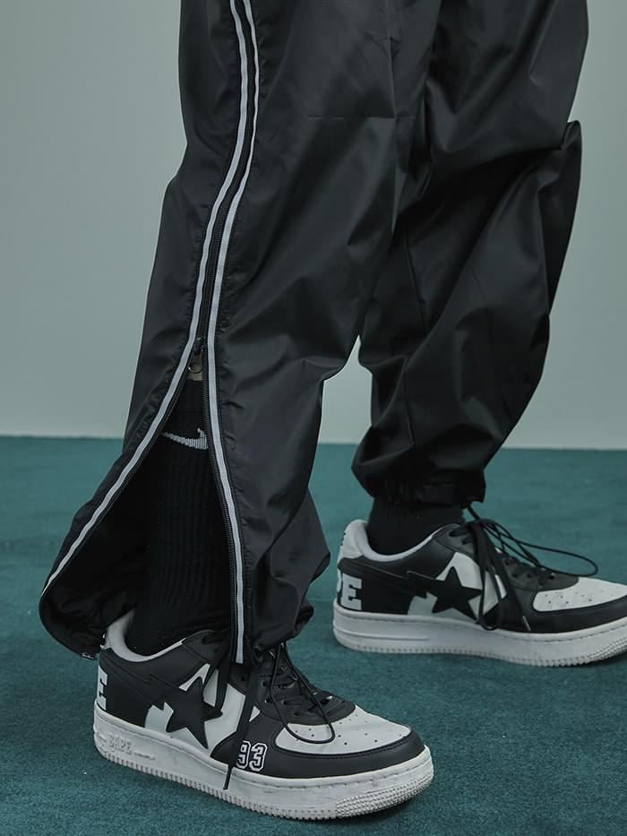 3M side zipper track pants - UNISEX