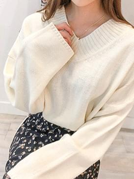 Top Chad V Neck Knit