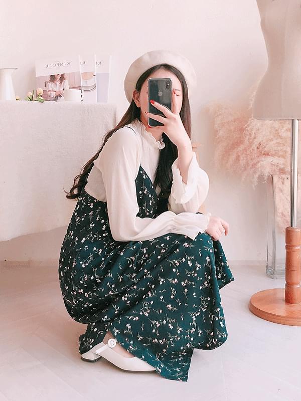 Dorothy floral navy dress
