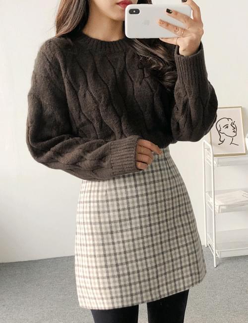 Frieze twill knit
