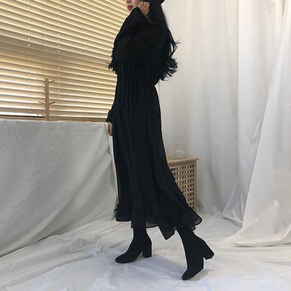 Mary Frill Chiffon Long Dress