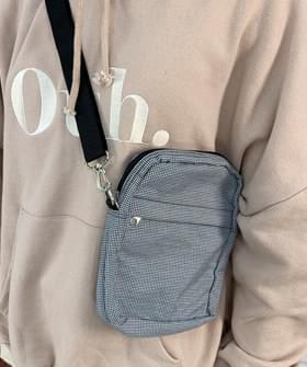 Minmi Check Cross Bag