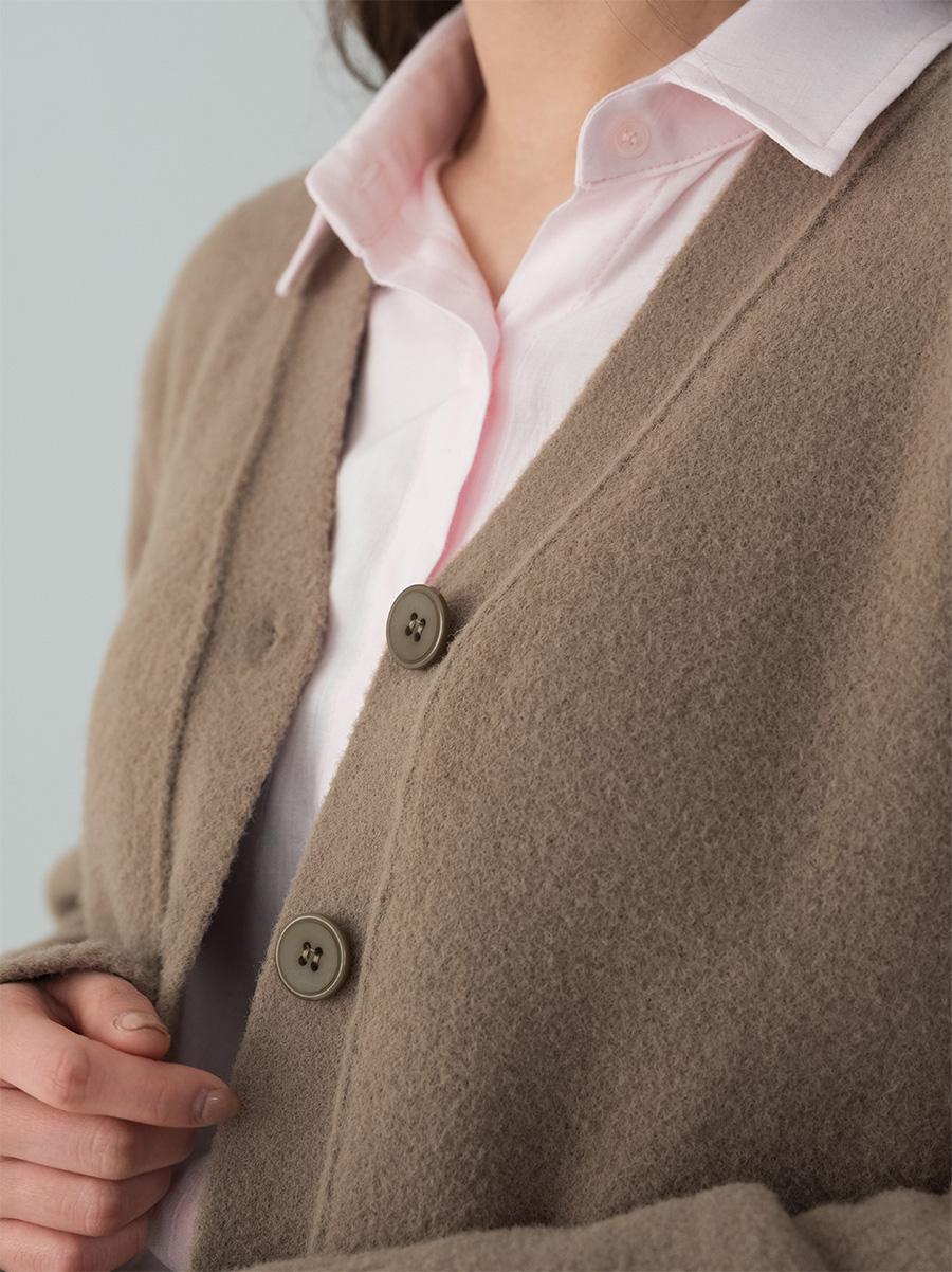 5 color v-neck cardigan
